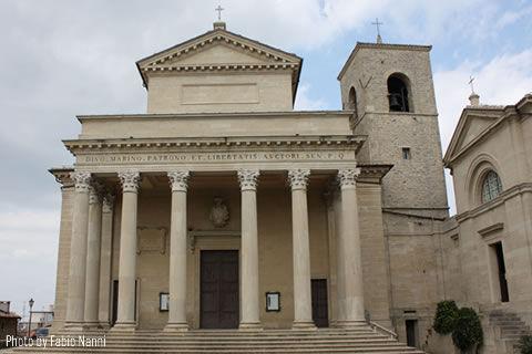 Die Basilika des Heiligen Marinus San Marino
