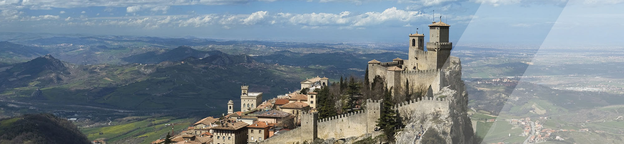 The hotels of San Marino Cycling Experience